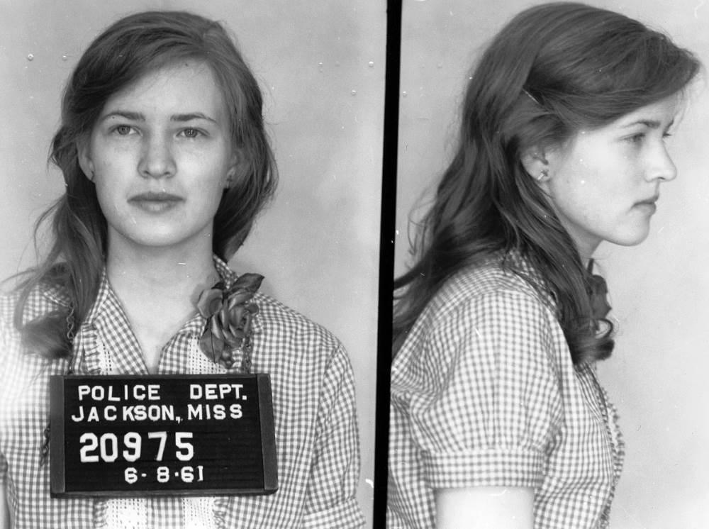 Joan Trumpauer - Fotos policiales de 1961