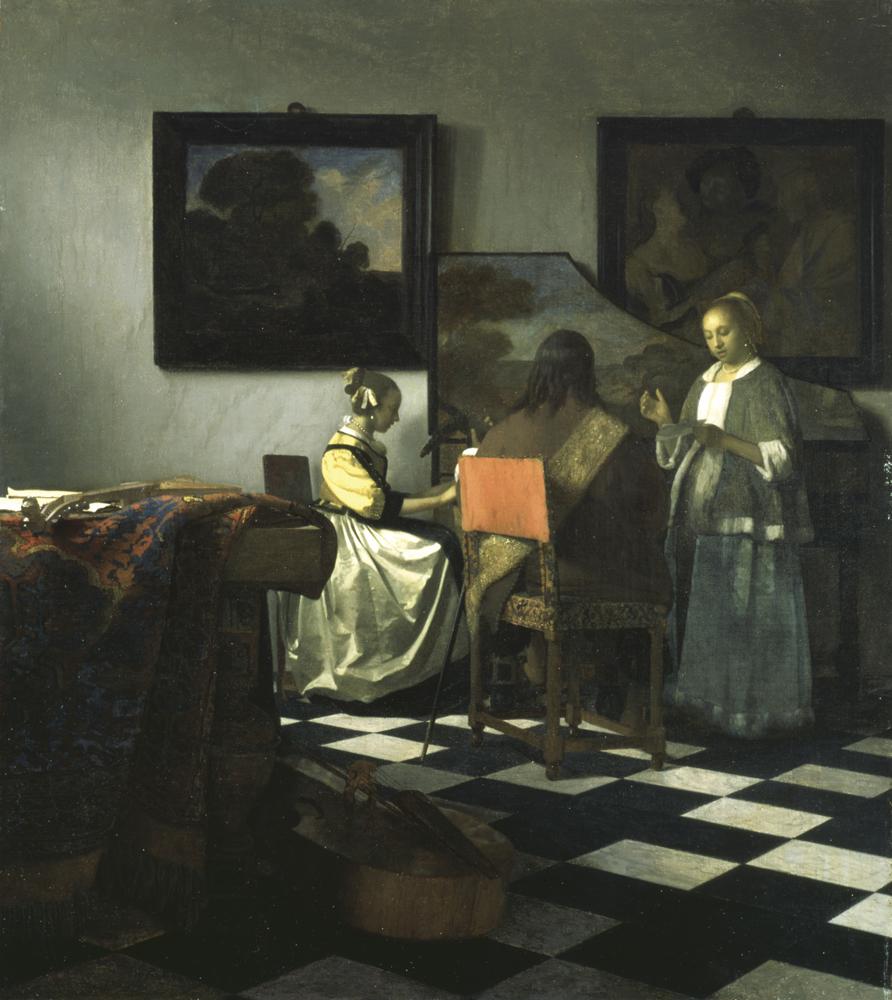 """""""The Concert"""" - Vermeer, 1658-1660. Foto: FBI"""