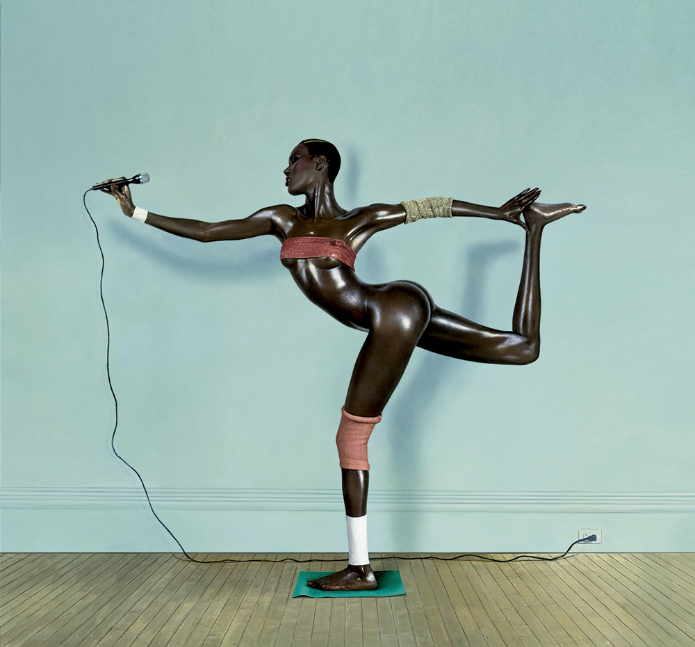 """Nigger Arabesque"", 1978  © Jean-Paul Goude"