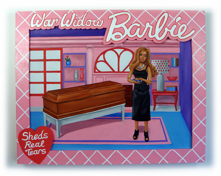 'Barbie War Widow' ('Barbie viuda de guerra') - Peter Adamyan