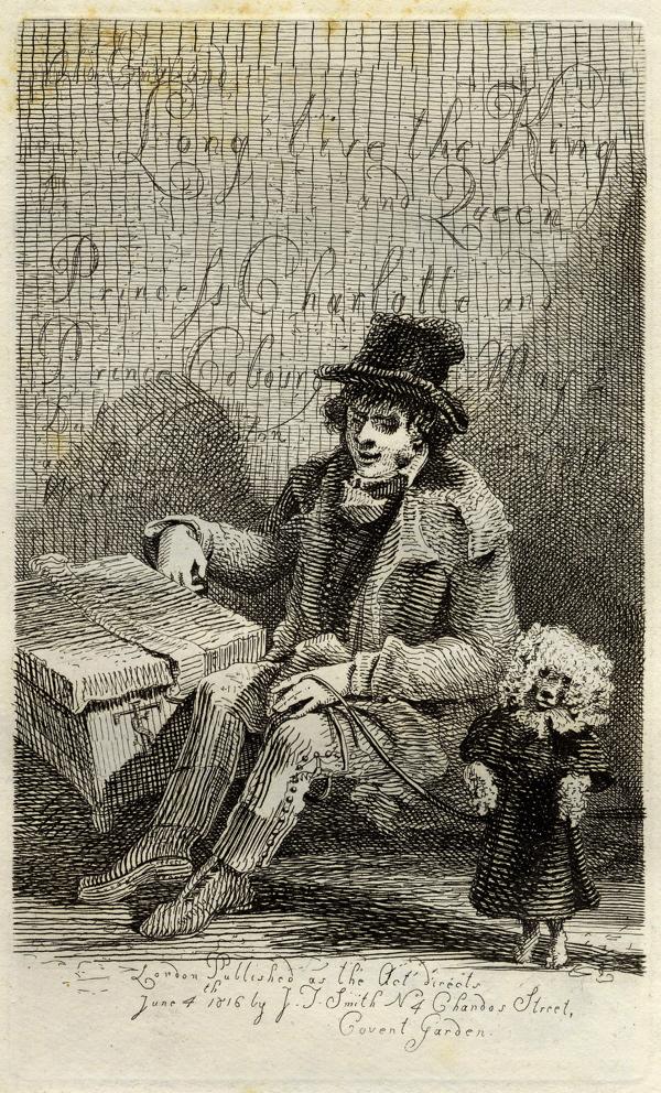 'Charles Wood y su perro bailarín' - John Thomas Smith
