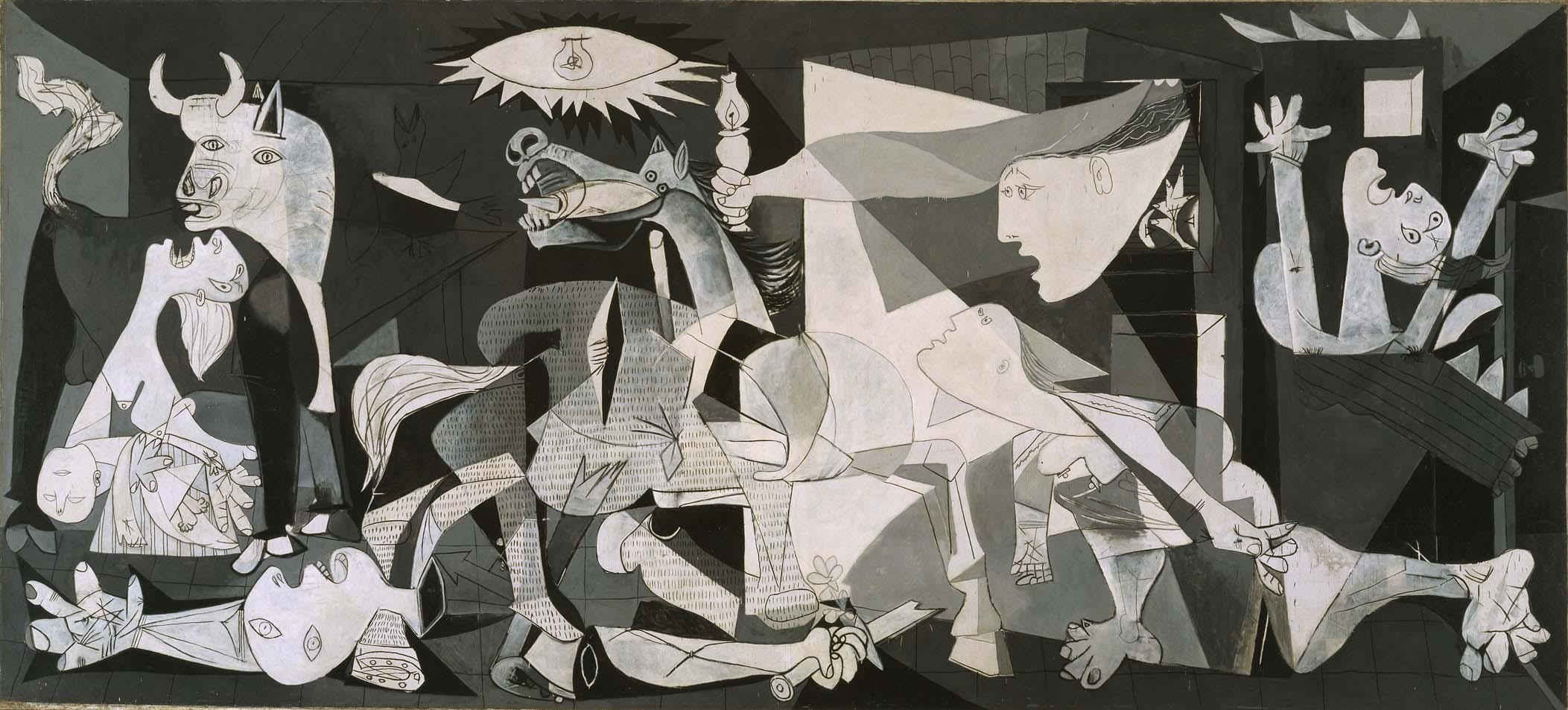 El 'Guernica' - Pablo Picasso, 1937 -  Museo Nacional Centro de Arte Reina Sofía, Madrid