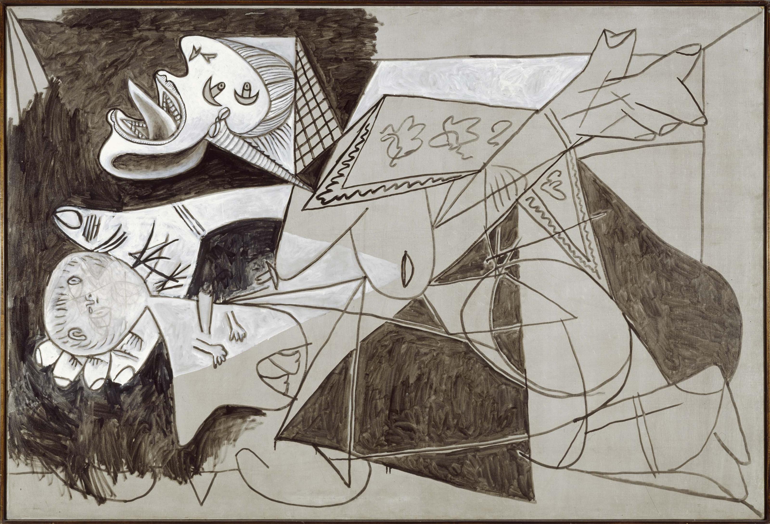 'Madre con niño muerto' (II). Postscripto del 'Guernica', 1937 - Museo Nacional Centro de Arte Reina Sofía, Madrid