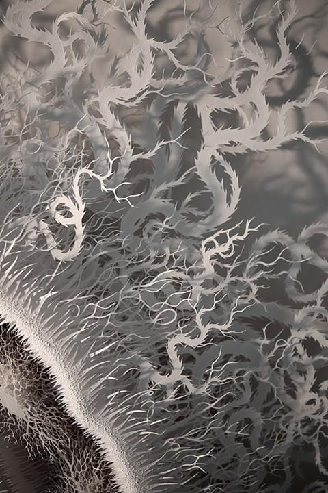 Detalle de 'Cut Microbe' - © Rogan Brown