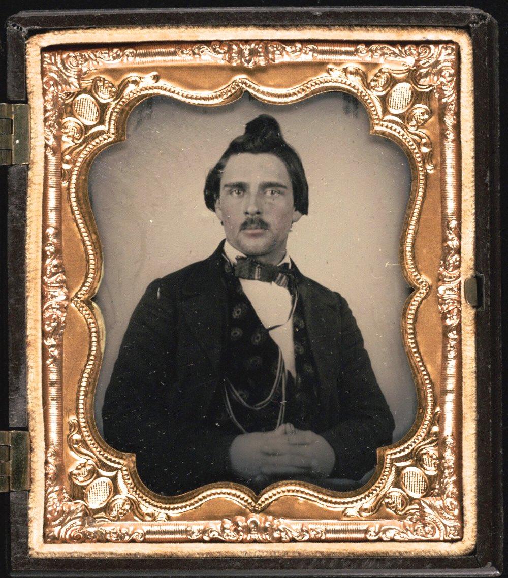 Daguerrotipo de Lorenzo Oatman, 1857