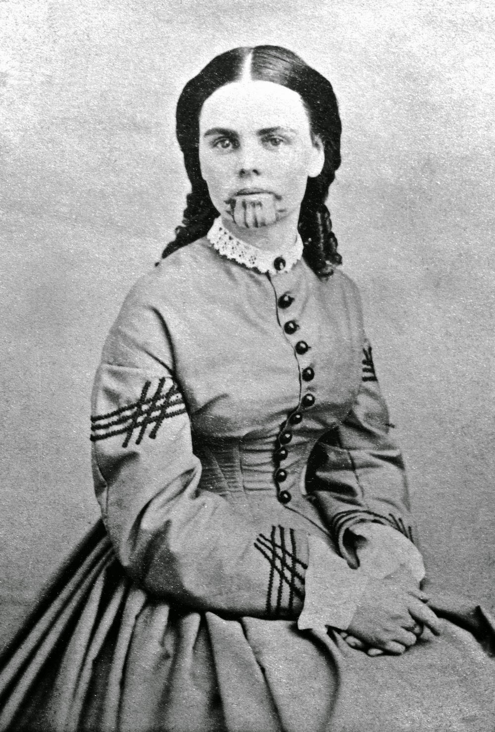 Olive Oatman - Foto: National Portrait Gallery, Smithsonian