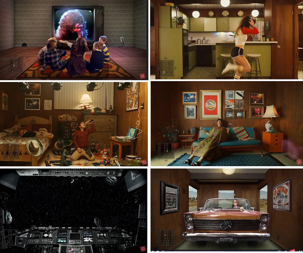 """Capturas de los vídeos de """"Trampled Under Foot"""" © Hal Kirkland"""