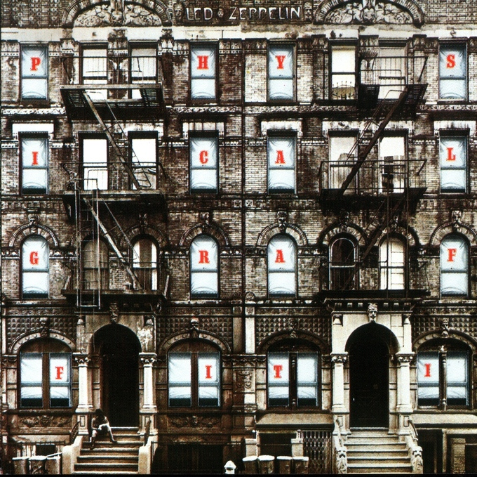 """Physical Graffiti"" - Led Zeppelin, 1975"
