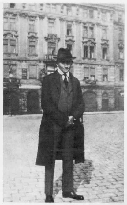 Kafka en Praga, 1922