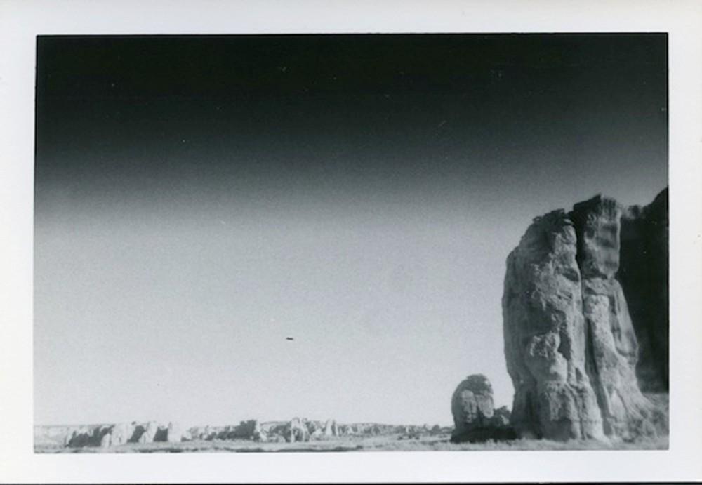 Untitled (desert landscape)  © Dennis Hopper
