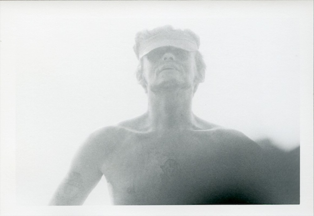Untitled (man with hat and no shirt) © Dennis Hopper