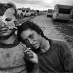 Gypsy Camp, Barcelona, Spain 1987 © Mary Ellen Mark
