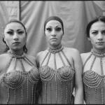 Three Acrobats Vazquez Brothers Circus, Mexico City, Mexico, 1997 © Mary Ellen Mark