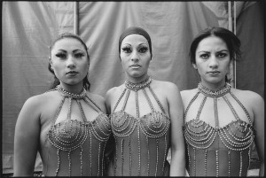 Three Acrobats Vazquez Brothers Circus, Mexico City, Mexico, 1997 © Mary Ellen Mark