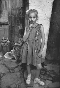 Beautiful Emine Posing Trabzon, Turkey, 1965 © Mary Ellen Mark