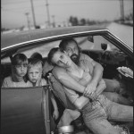 The Damm Family In Their Car Los Angeles, California, USA, 1987 © Mary Ellen Mark