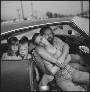 The Damm Family In Their Car Los Angeles, California, USA, 1987 © Mary Ellen Mark