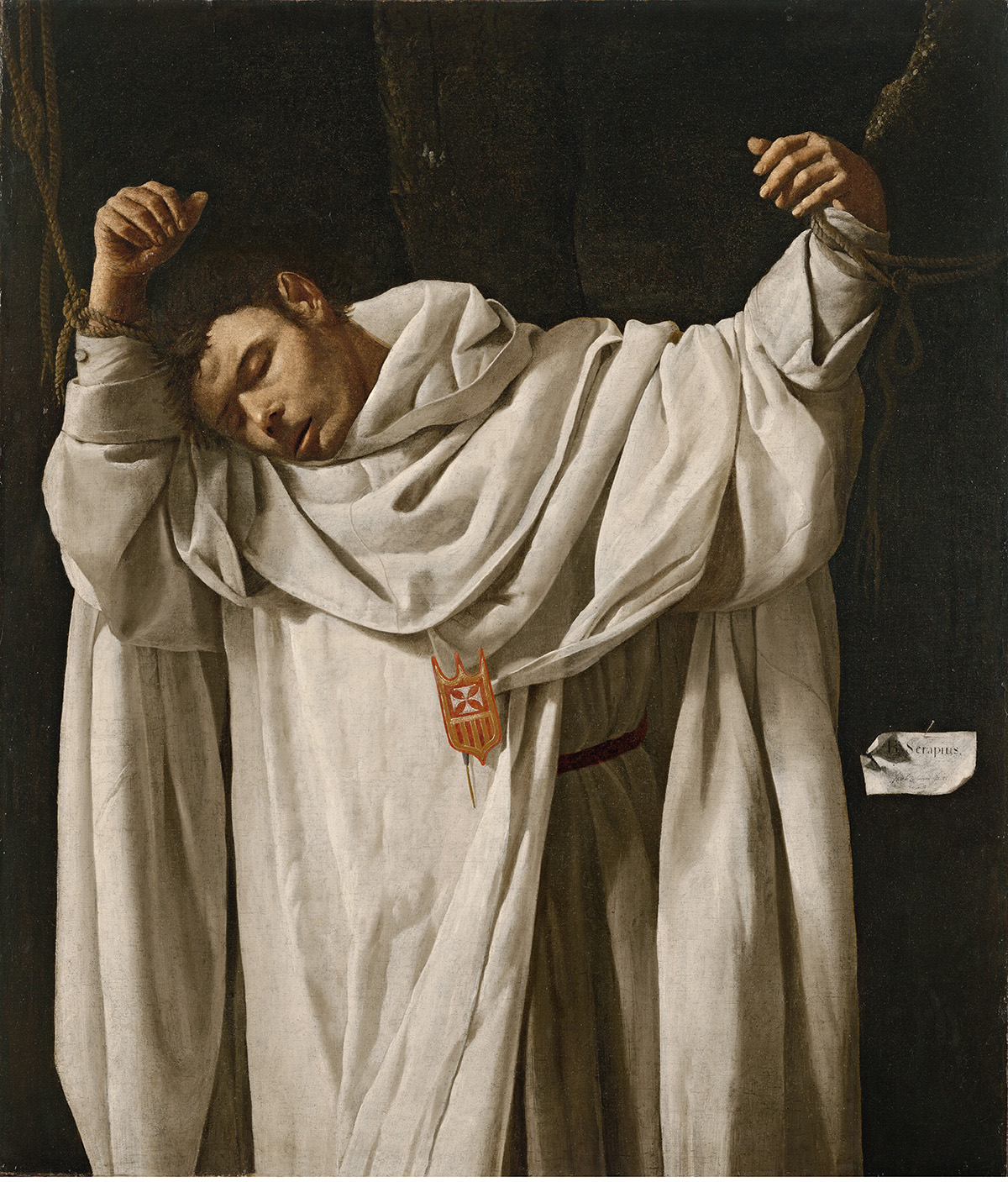 Francisco de Zurbarán - 'San Serapio', 1628 (Hartford, CT, Wadsworth Atheneum Museum of Art. The Ella Gallup Sumner and Mary Catlin Sumner Collection)