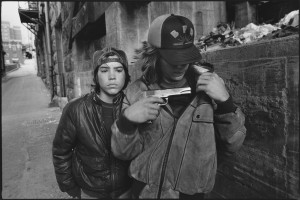 Rat, 16 (Far Left), And Mike, 17 Seattle, 1983 © Mary Ellen Mark