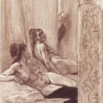"""""""Die Begierde"""" - Félicien Rops (Dominio público)"""
