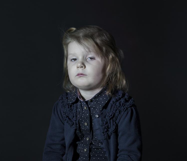Emmeline,  from 'Idiot Box' © Donna Stevens