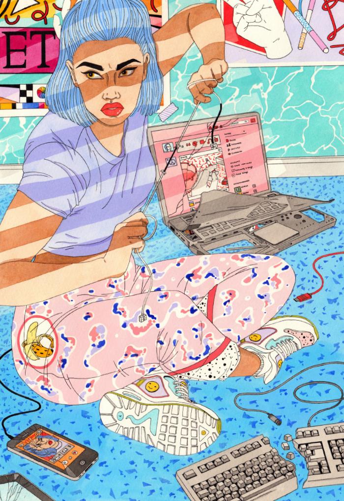 Ilustración de la serie 'Pick Me Up' (2015) - Laura Callaghan