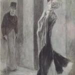 """""""Parodie humaine"""", 1880 - Félicien Rops (Dominio público)"""