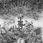 """""""Les Epavés"""", 1866 - Félicien Rops, para la versión no censurada de """"Las flores del mal"""" (Dominio público)"""