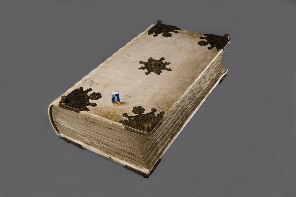 El 'Codex Gigas' - Foto: National Library of Sweden