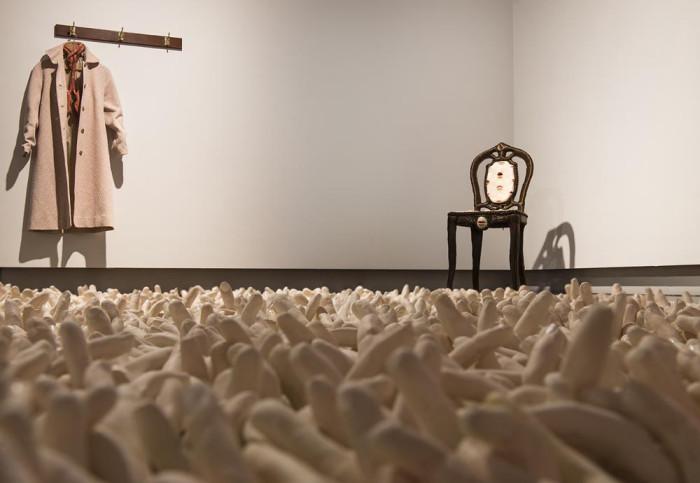 'Intimate Vestiges' (installation) - Fiona Roberts