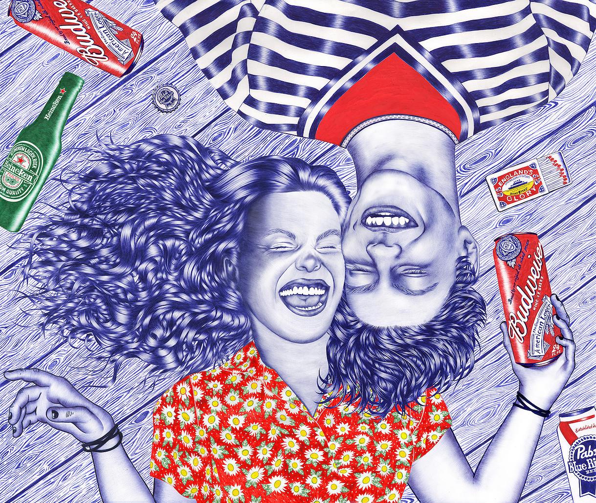 'Laughing Daisies' - Helena Hauss