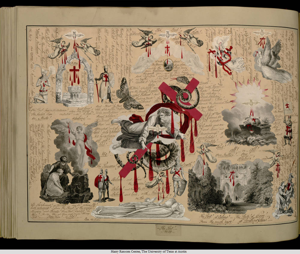 """Victorian Blood Book"" - Harry Ransom Center"