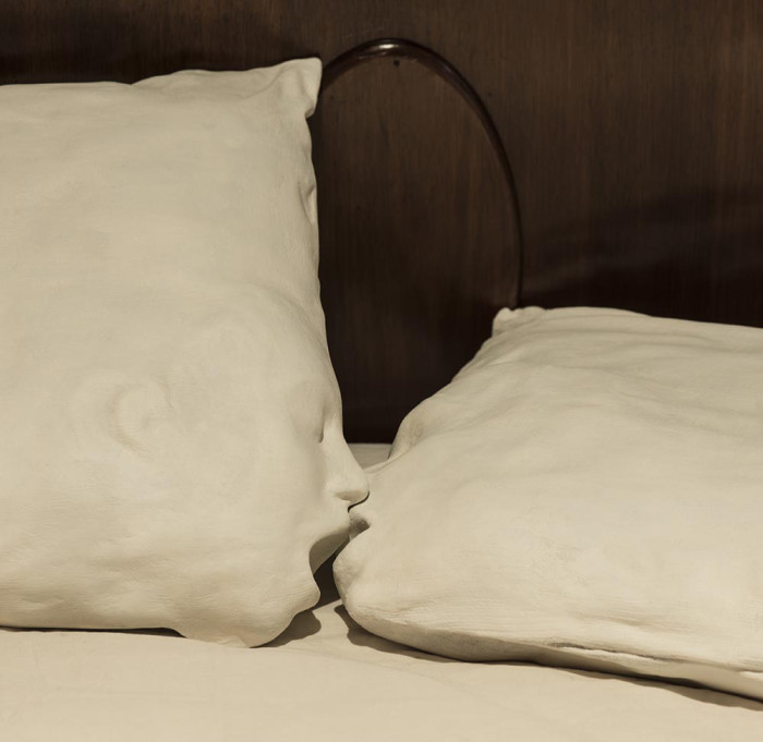 'Passion Pillows' (detail) - Fiona Roberts