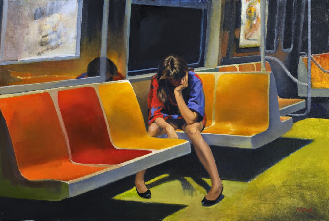 'Q Train' - Nigel Van Wieck
