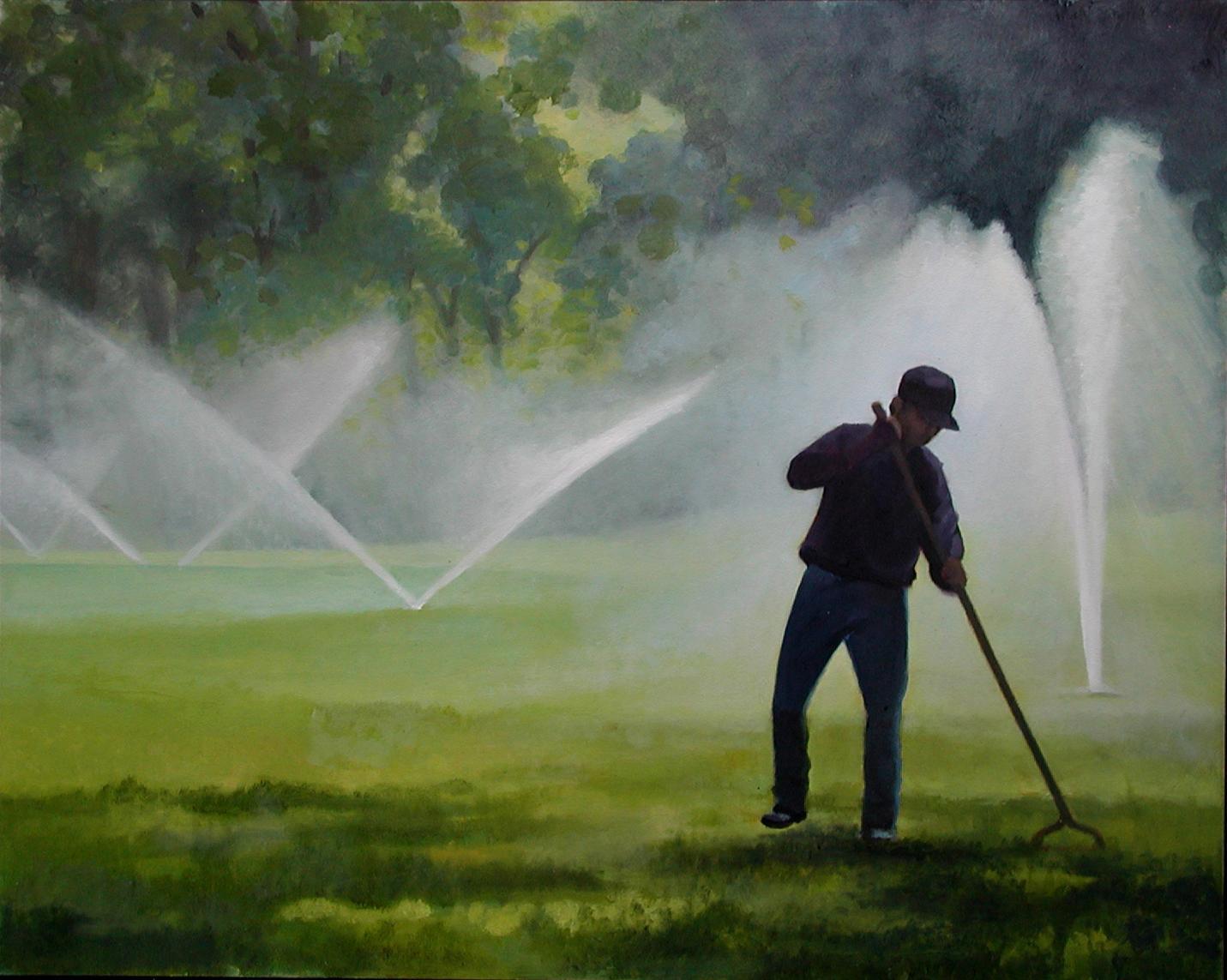 'The Gardener' - Nigel Van Wieck