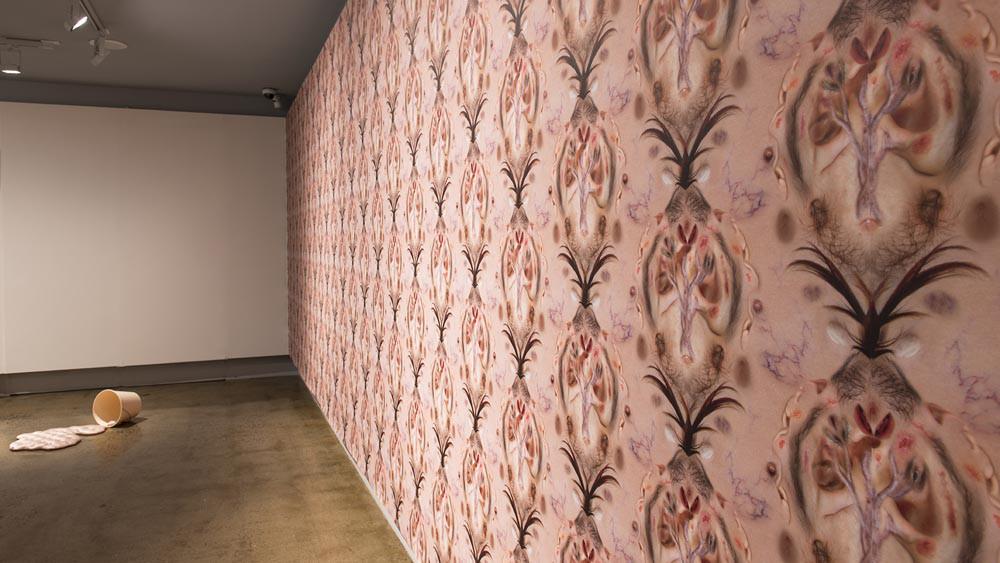 'Wallpaper' - Fiona Roberts