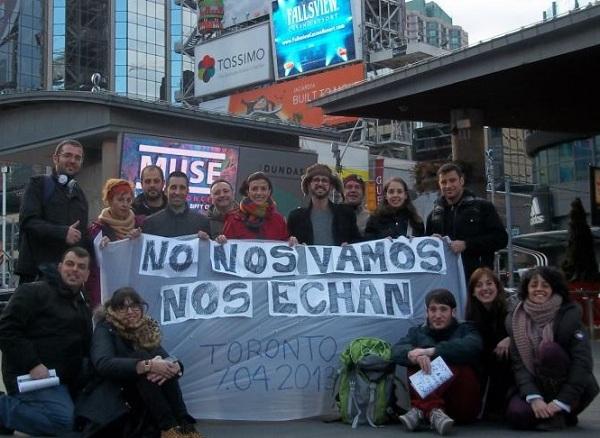 Protesta en toronto