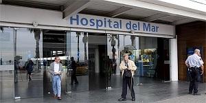 Entrada del Hospital del Mar