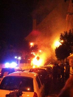 Incendio Hoguera Alicante