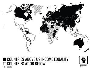 Mapa muncial de la desigualdad