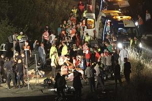Asistencia a las víctimas de Santiago