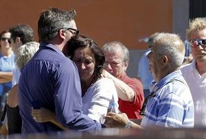 Víctimas accidente tren Santiago