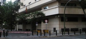 Edificio de la Audiencia Nacional en Madrid
