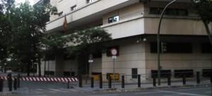 Edificio de la Audiencia Nacional en Madrid