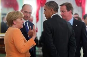 Merkel y Obama