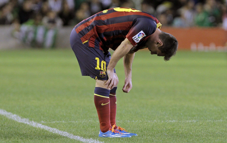 Messi y sus misteriosas lesiones