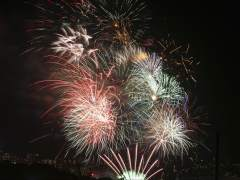 Fuegos artificiales. (GTRES)