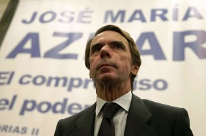 El expresidente del Gobierno, José Mª Aznar (Juan Carlos Hidalgo / EFE)