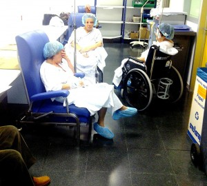 """""""Trastero"""" en el clínico. (RAFAEL DE LA HAZA)"""