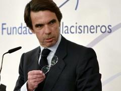 El expresidente del gobierno José María Aznar. (Javier Etxezarreta/EFE)